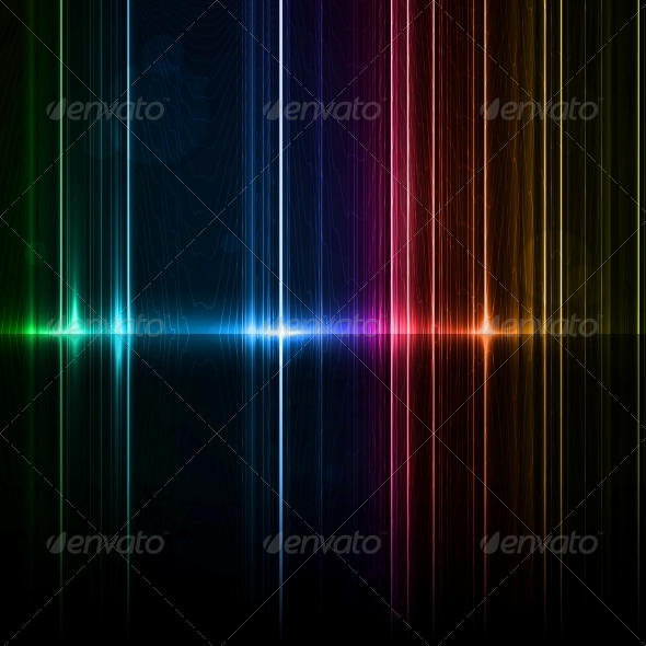 Neon Abstract - Backgrounds Decorative