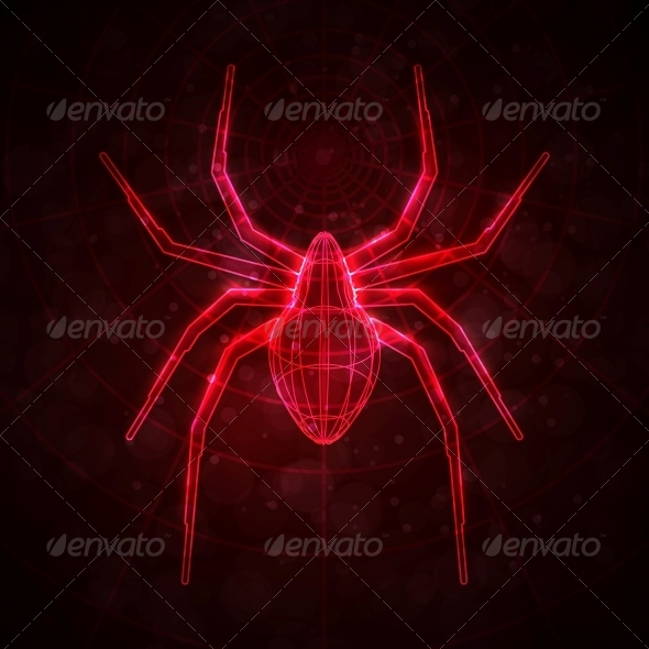 Abstract Spider - Animals Characters
