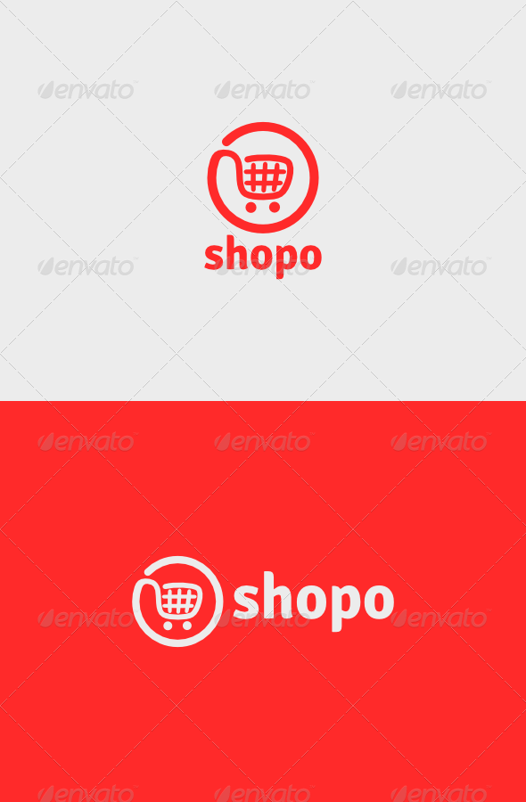 Shopo Logo - Objects Logo Templates