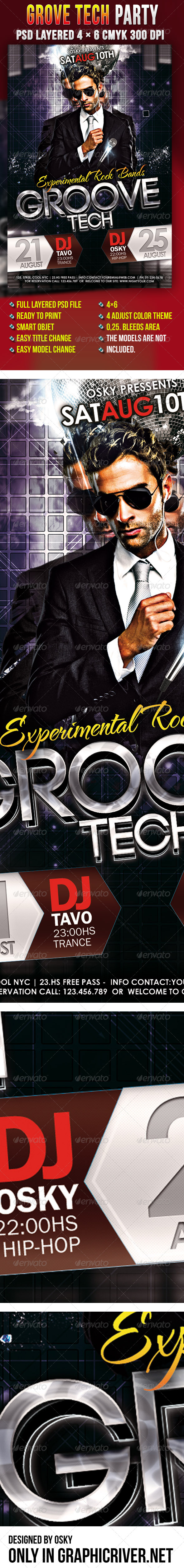 Grove Tech Party - Clubs & Parties Events