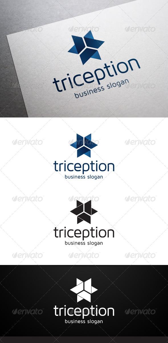 Triception Logo - Abstract Logo Templates
