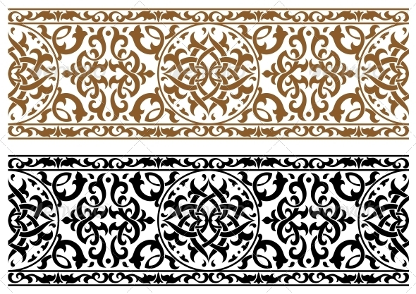 Abstract Arabic Ornament - Patterns Decorative