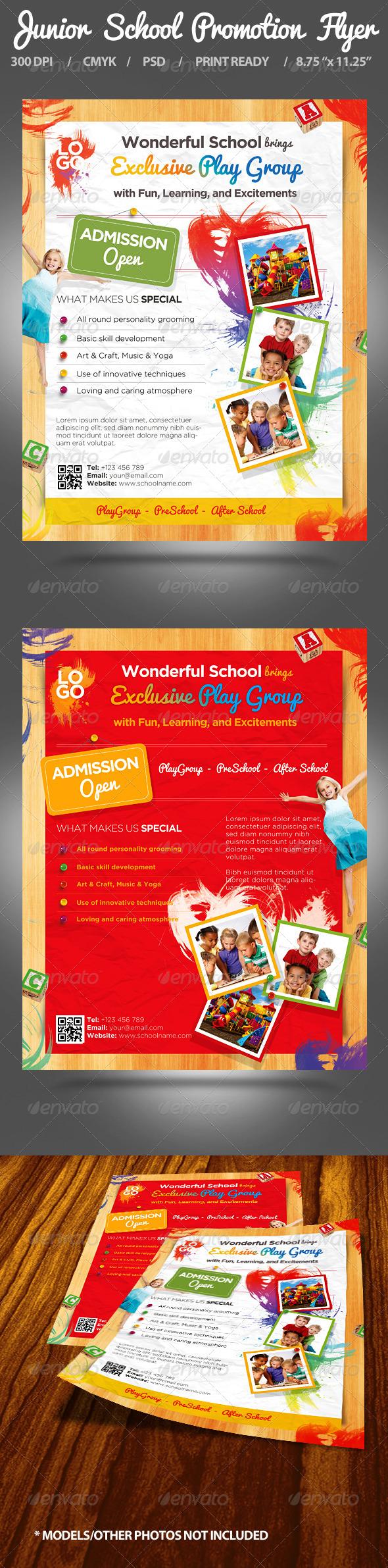 Junior School Promotion Flyers - Miscellaneous Events