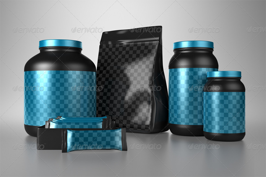 Protein Products Mock-Ups