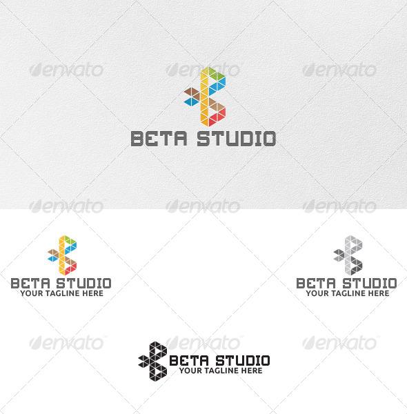Letter B - Logo Template - Letters Logo Templates