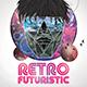 Futuristic Retro Flyer / Poster - GraphicRiver Item for Sale