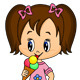 Little Girl with Ice-Cream - GraphicRiver Item for Sale