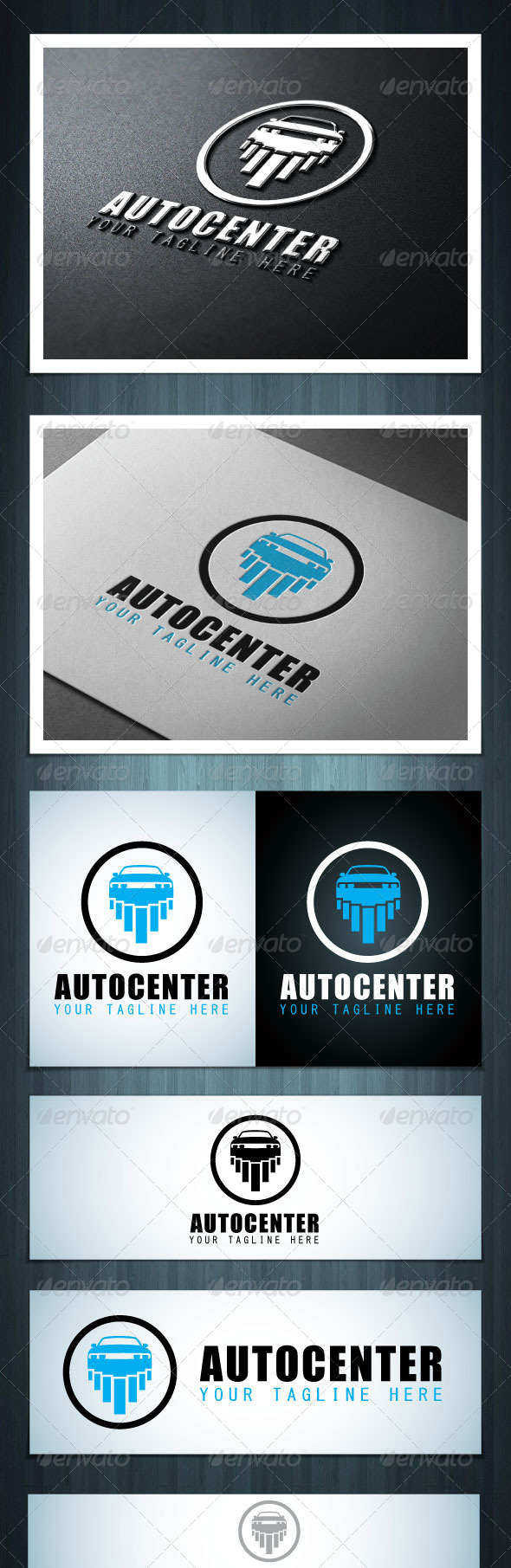 Autocenter - Vector Abstract