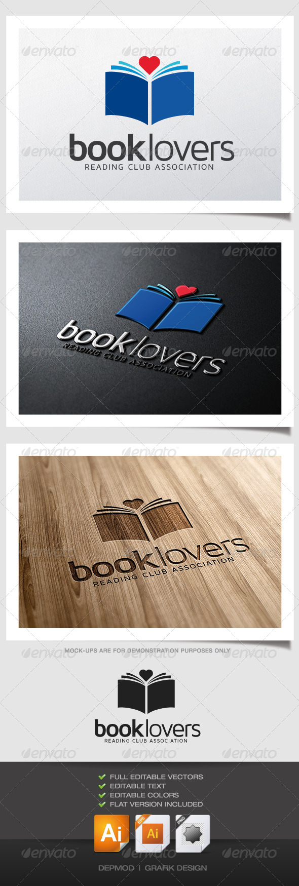 Book Lovers Logo