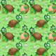 Seamless Pattern with Cartoon Turtles  - GraphicRiver Item for Sale