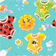 Bright Seamless Background of Children Clothes - GraphicRiver Item for Sale