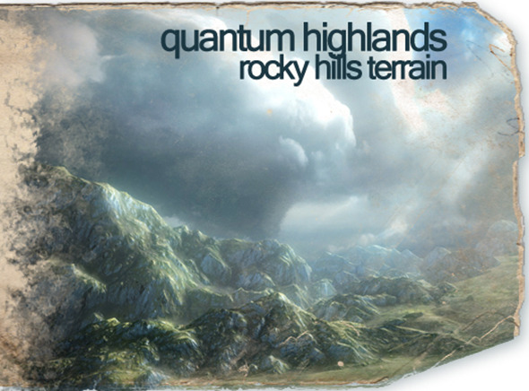 Quantum Highlands: Rocky Hills Terrain Pack - 3DOcean Item for Sale
