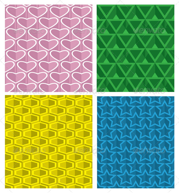 Seamless Pattern Set - Patterns Decorative