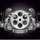 Film Reel with Lions - GraphicRiver Item for Sale