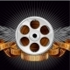 Film Reel with Wings - GraphicRiver Item for Sale