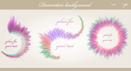 Floral Decorative Backgrounds