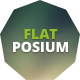 Flatposium - Responsive Event Landing Page Nulled