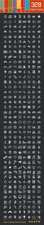 Large Icons Set - Icons
