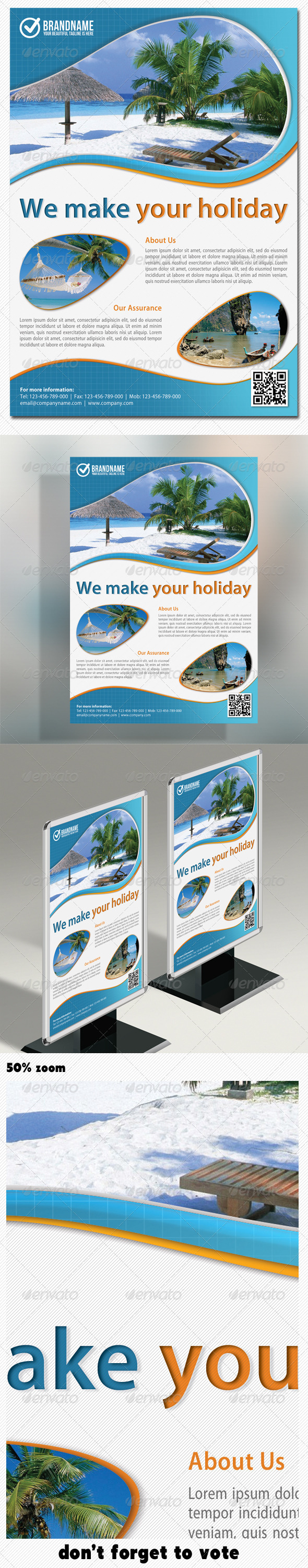 Corporate Product Flyer 03 - Holidays Events