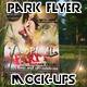 Realistic Park Flyer Mock-Up - GraphicRiver Item for Sale