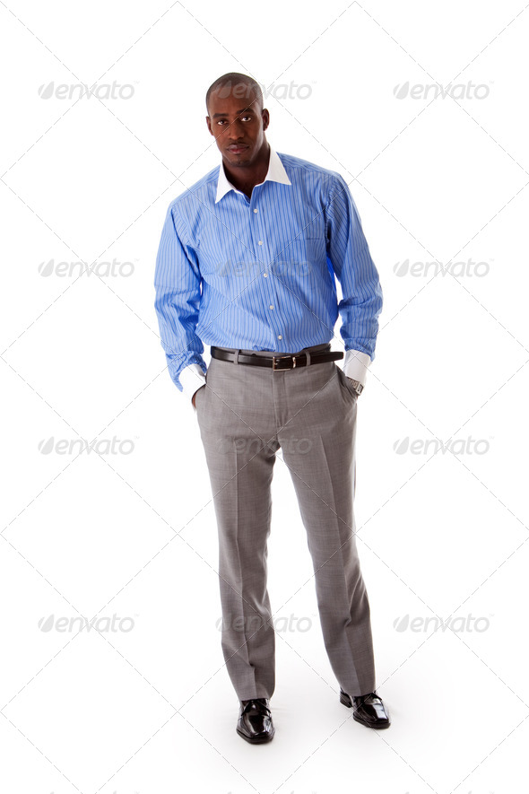 Handsome business man - Stock Photo - Images