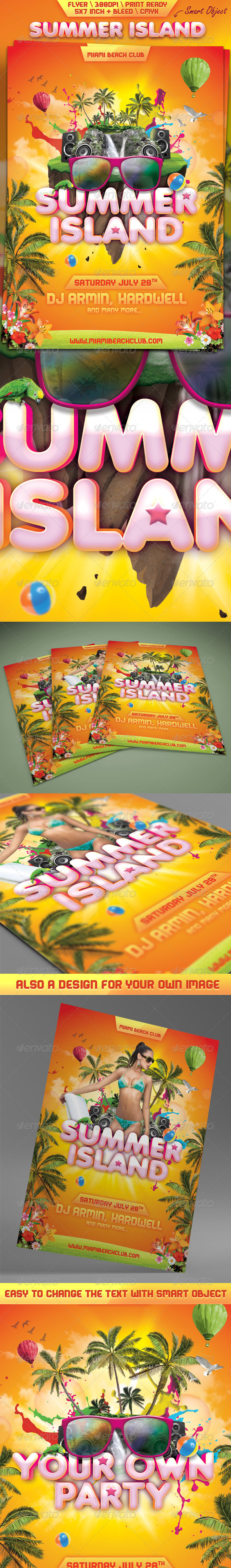 Summer Island Flyer