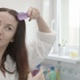 Woman Brushing Hair - VideoHive Item for Sale