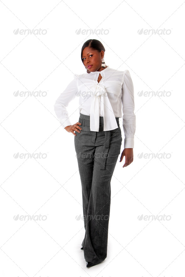 African business woman - Stock Photo - Images