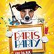 Paris Party Flyer Template - GraphicRiver Item for Sale