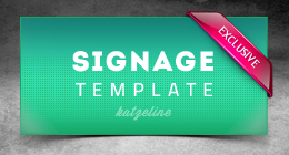 Corporate Signage Template