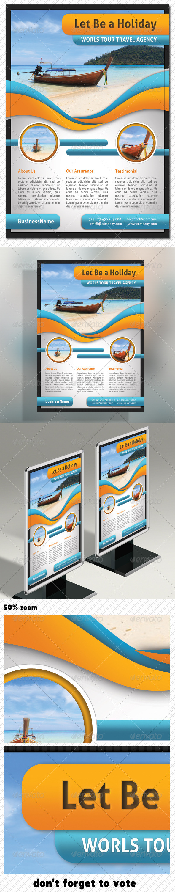 Corporate Product Flyer 01 - Holidays Events