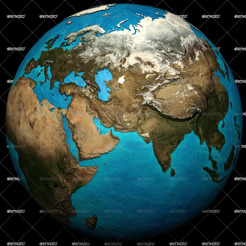 3d photoshop earth  u0026 infographics set by joelferrell