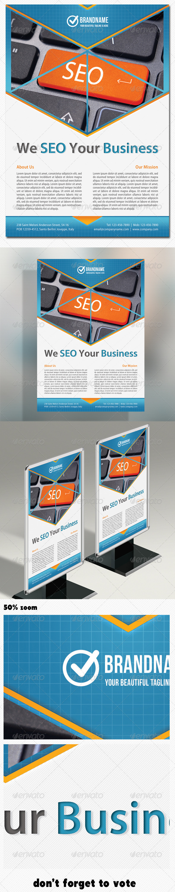 Corporate Product Flyer 05 - Corporate Flyers