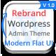 Rebrand Wordpress Admin Theme - Modern Flat UI - CodeCanyon Item for Sale