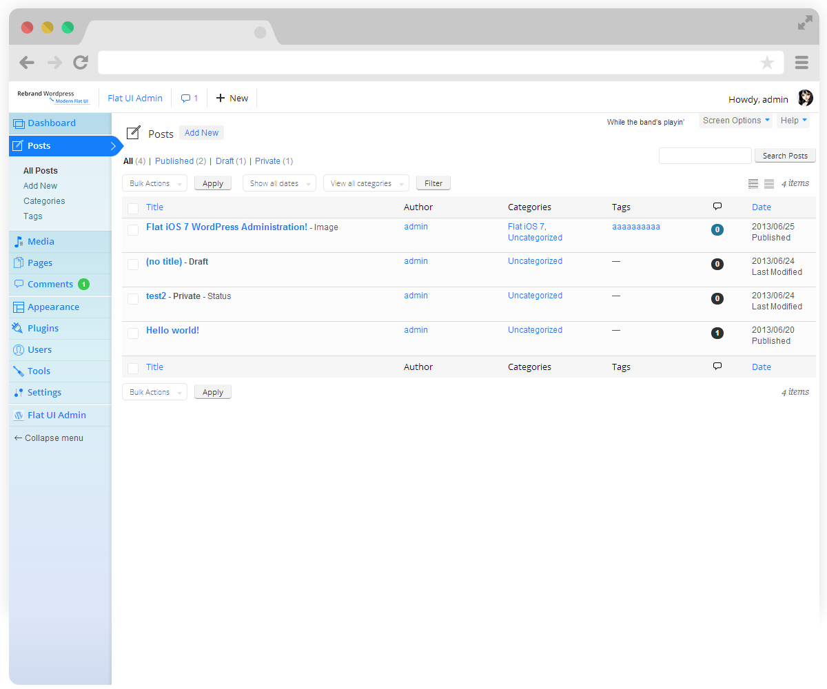 Wp Login: Rebrand Wordpress Admin Theme