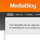 Media Blog - ThemeForest Item for Sale