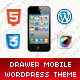 Drawer Mobile | Mobile WordPress Theme Nulled