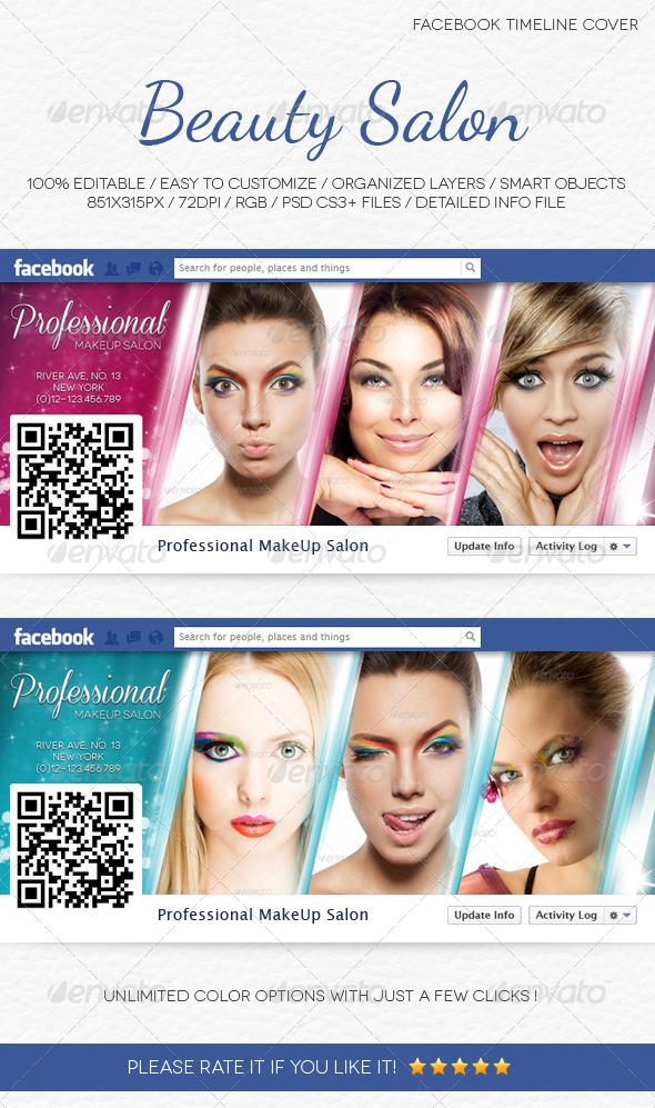 Beauty Salon Facebook Timeline Cover - Facebook Timeline Covers Social Media