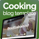 Cooking blog template - ThemeForest Item for Sale