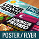 Lunch & Dinner Promo Poster/Flyer (A3, A5) - GraphicRiver Item for Sale
