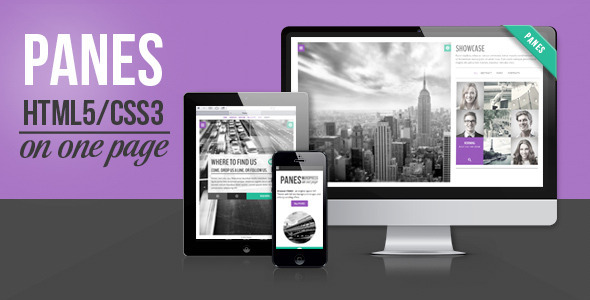 Panes – HTML5 Business Theme