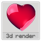 3D Heart - GraphicRiver Item for Sale