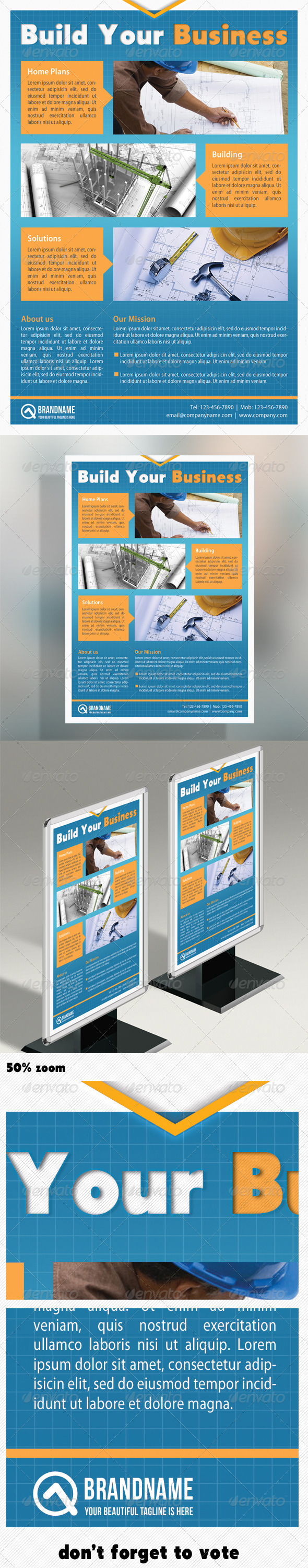 Corporate Product Flyer 06 - Corporate Flyers