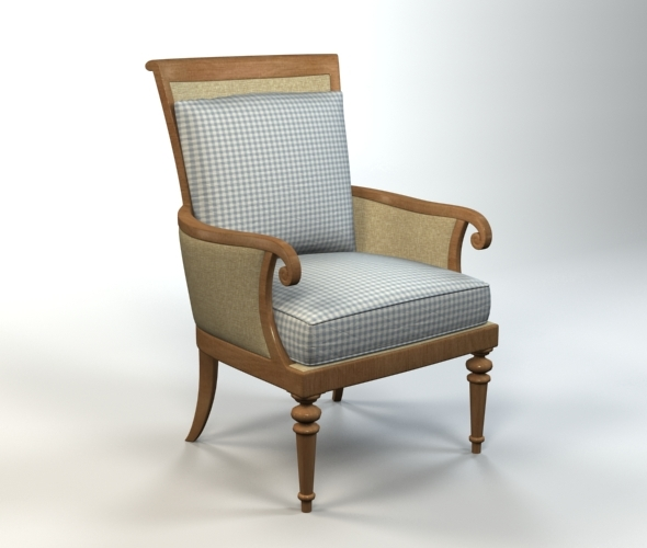 Armchair - 3DOcean Item for Sale