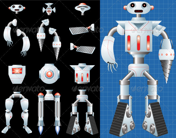 Build Your Own Robot - Man-made Objects Objects