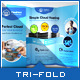 Cloud Hosting Service - Tri-Fold Brochure Template - GraphicRiver Item for Sale