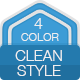 Infographic clean style - GraphicRiver Item for Sale
