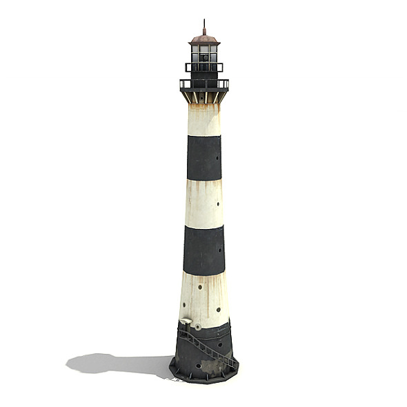 Port Canaveral Lighthouse - 3DOcean Item for Sale