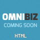 OmniBiz - Responsive Coming Soon Website Template Nulled