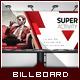 Multipurpose Corporate Billboard - Power Triangle - GraphicRiver Item for Sale